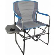 Highlander Compact Directors Chair + Side Table (Blue)